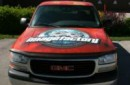 This is the Creativeink Design truck featuring our ImageFactory logo on the hood.