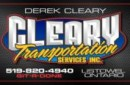 Cleary Transportation Services