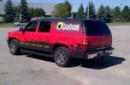 Vehicle wrap for the shop truck