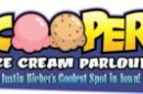 Sign design for Justin Bieber's favourite Ice cream spot in Stratford