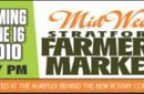 Banner design for the Stratford Farmers Market