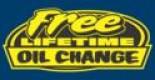 Free Lifetime Oil Change